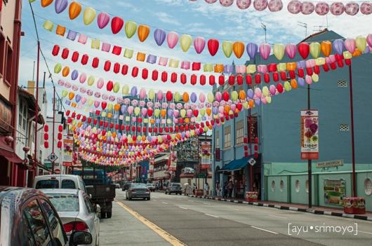 lanterns everywhere, Chinatown, Singapore