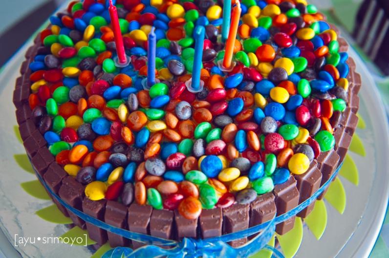 The Scrumptious Birthday Cake
