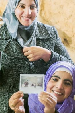 Jordanian Women at the workshop