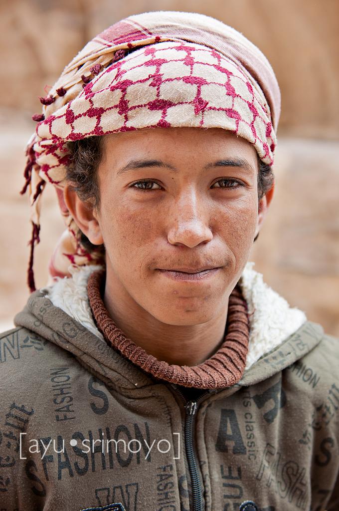 the donkey charmer, Petra, Jordan