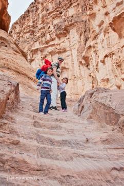 Going Up, Petra, Jordan