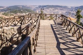 Foot Bridge, Ajlun Castle, Jordan