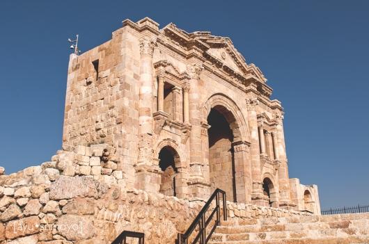 The Arch of Hadrian 1, Jerash, Jordan