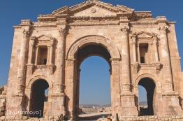 The Arch of Hadrian 2 , Jerash, Jordan