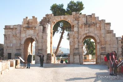 The South Gate, Jerash, Jordan