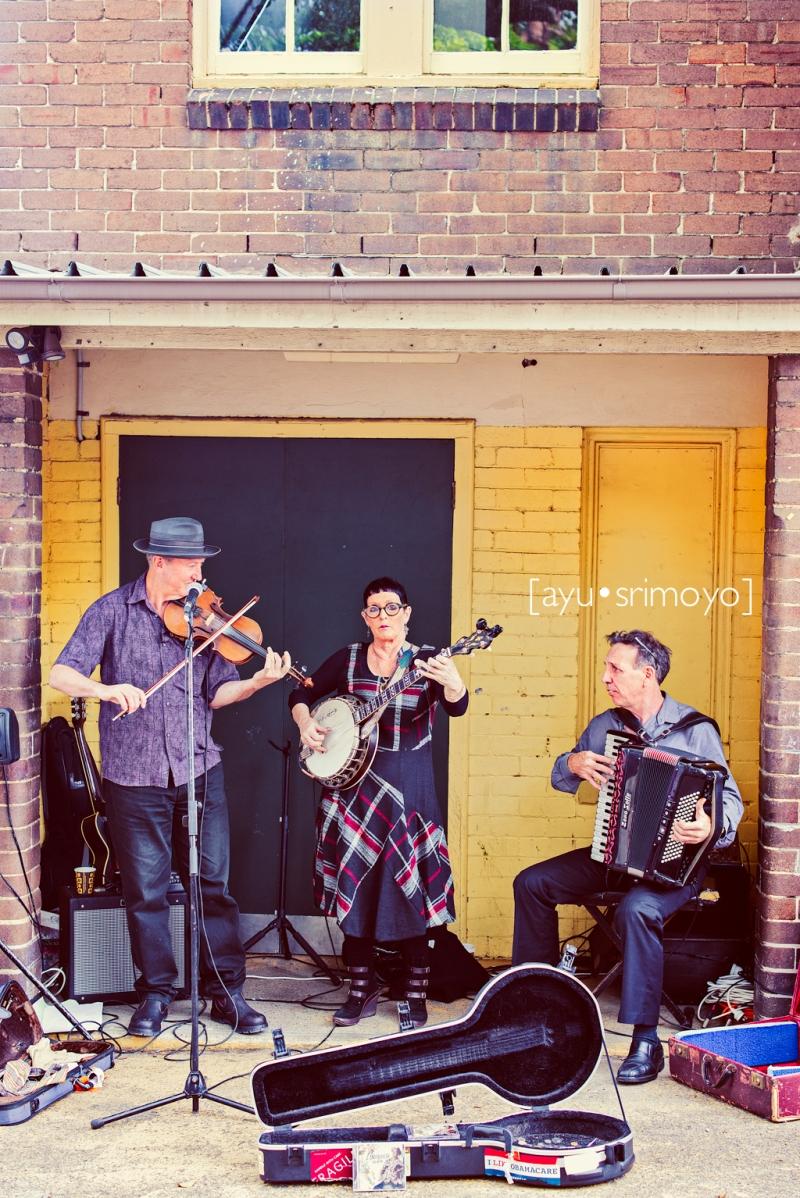 Musicians, Rozelle Market, Sydney
