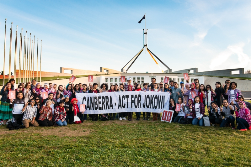 Canberra for Jokowi/JK