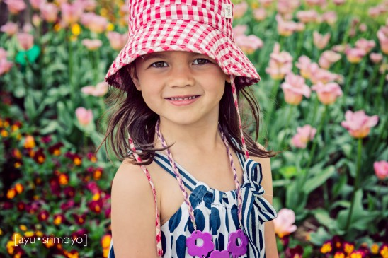 amongst the flowers - Tulip Top Garden
